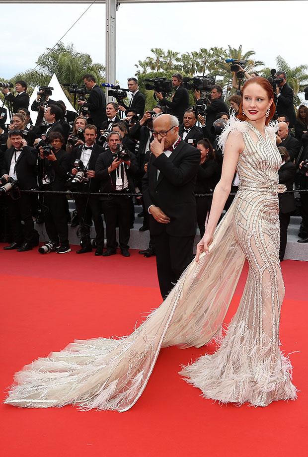 Barbara Meier en el Festival de cine de Cannes 2019