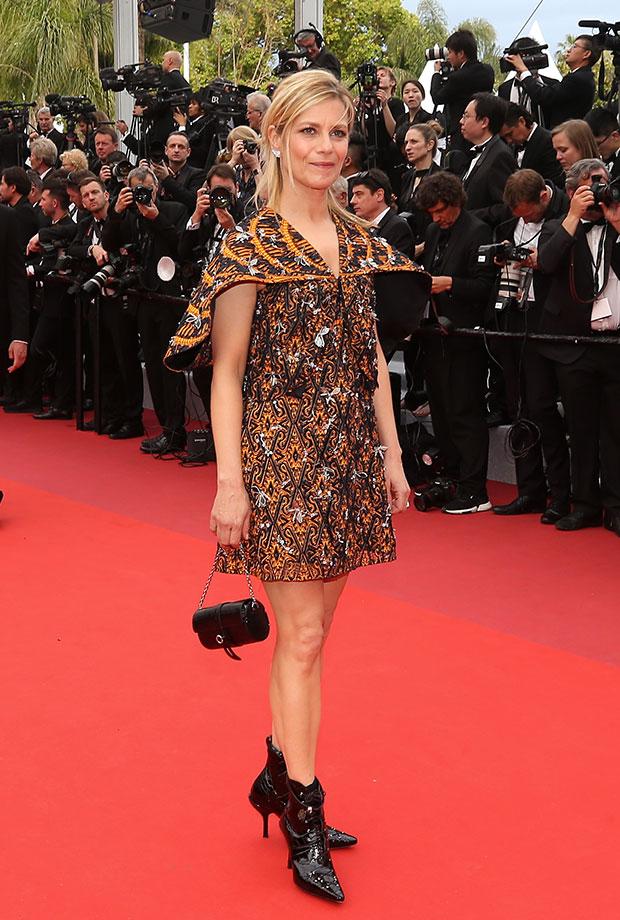 Marine Fois en el Festival de cine de Cannes 2019