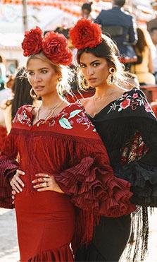 Influencers en la Feria de Sevilla