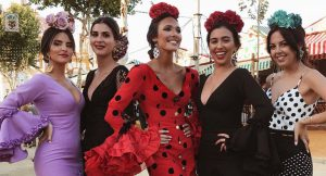 Las influencers ya están en la Feria de Sevilla