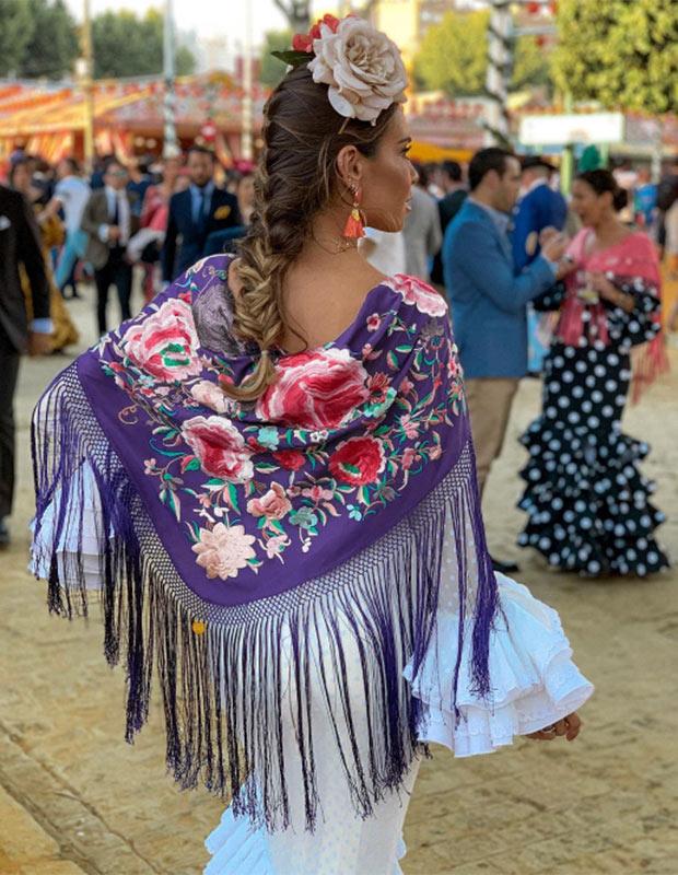 Marta Carriedo en la Feria de Sevilla 2019