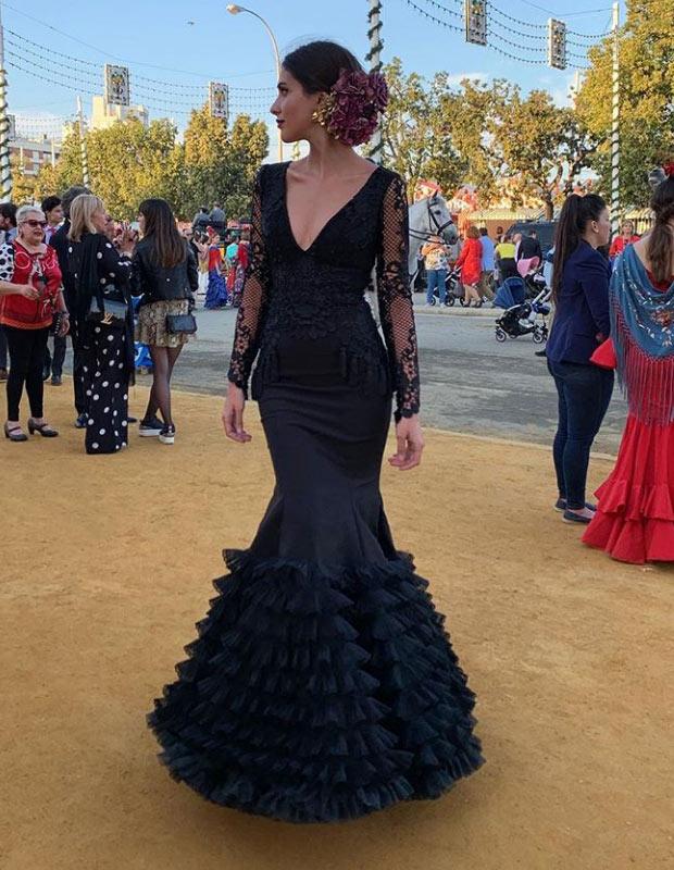 Mery Turiel en la Feria de Sevilla 2019