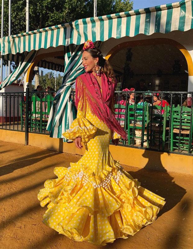 Rocío Osorno en la Feria de Sevilla 2019