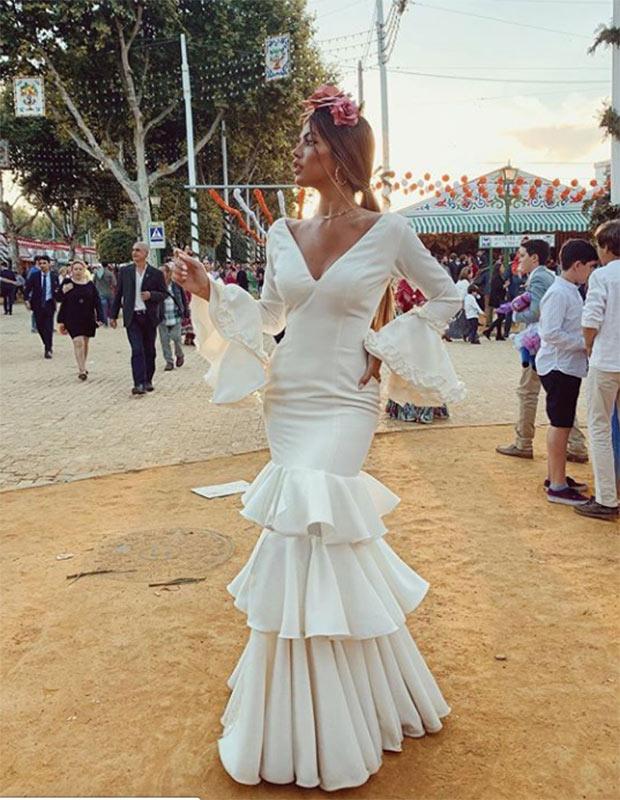 Teresa Seco en la Feria de Sevilla 2019