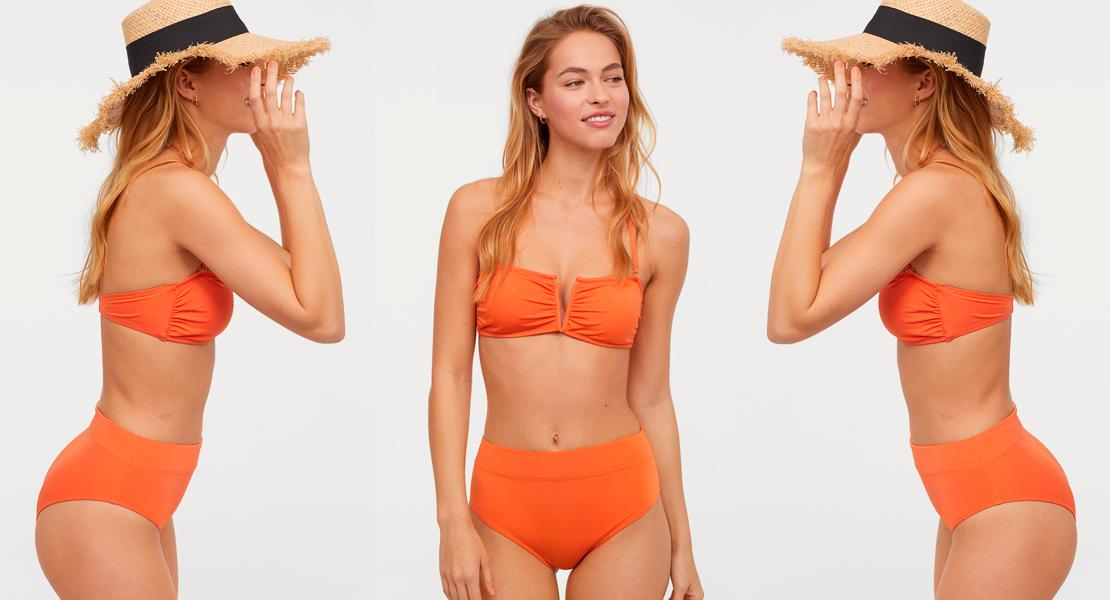 Bikini de talle alto