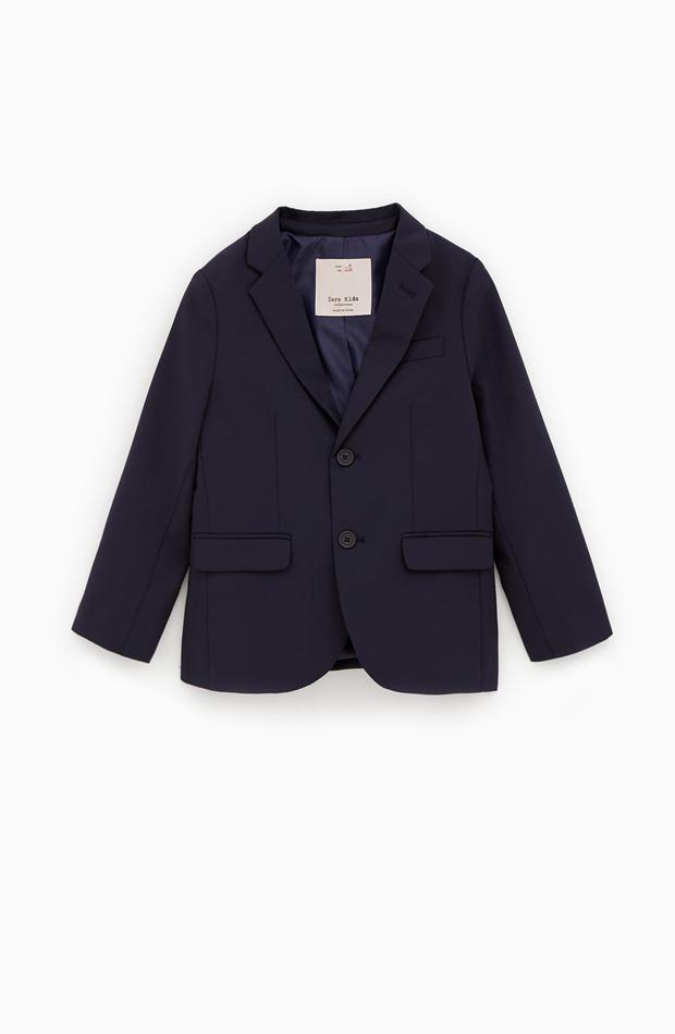 Blazer azul marino de la colección de verano de Zara Kids