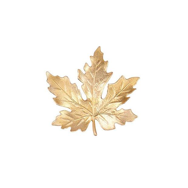 Broche Otoño en dorado de Trepillé