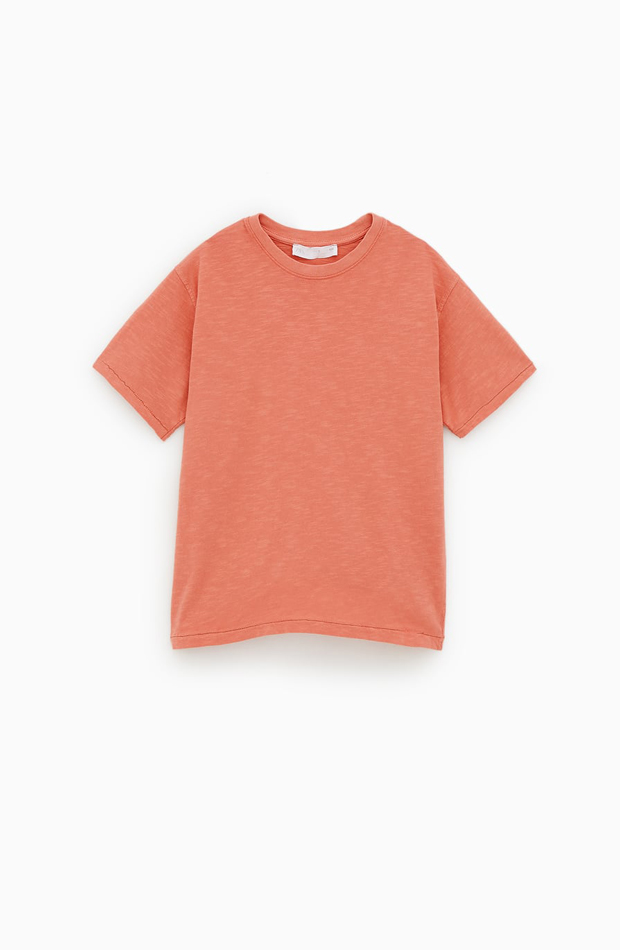 Camiseta coral de Zara Kids