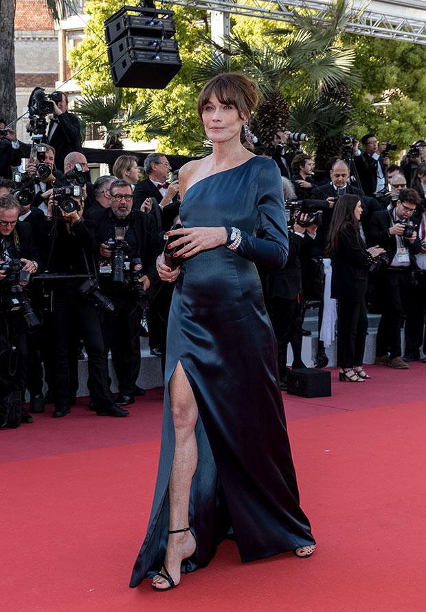 Carla Bruni en el Festival de cine de Cannes 2019