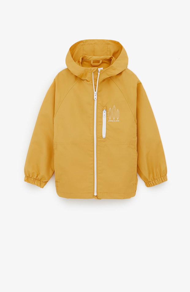 Chubasquero amarillo de verano Zara Kids