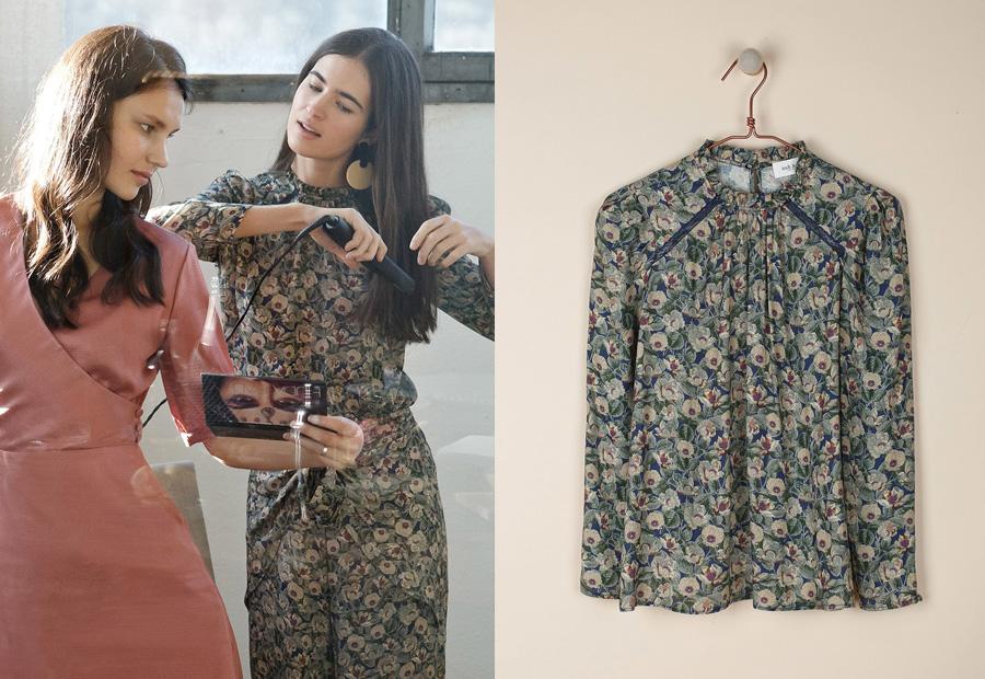 Blusa estampada de la colección Celebrate de Indi&Cold