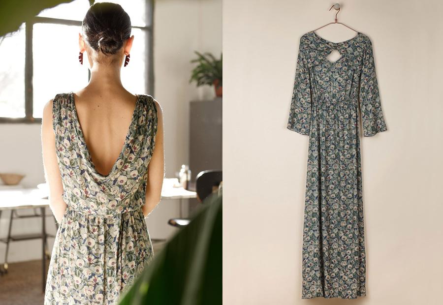 Maxi vestido floral de la colección Celebrate de Indi&Cold