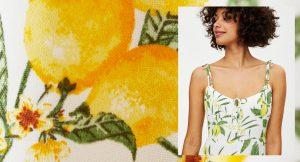 Apuesta por el estampado de limones antes de que se ponga más de moda