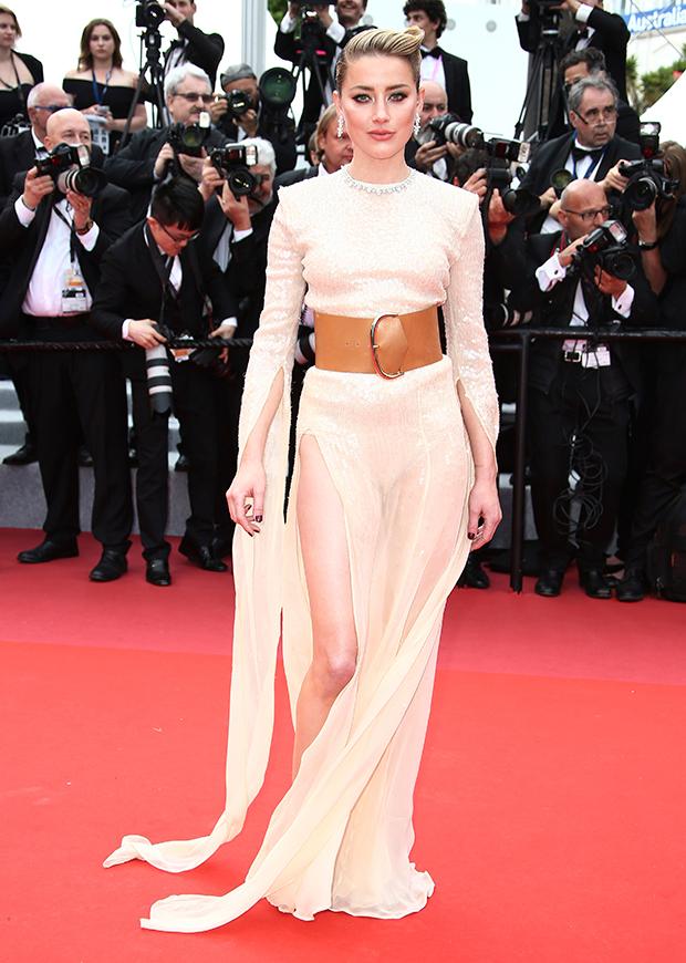 Amber Heard en el Festival de cine de Cannes 2019