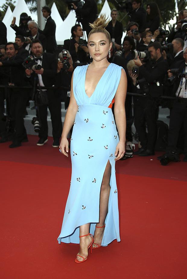 Florence Pugh en el Festival de cine de Cannes 2019