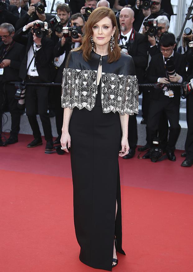 Julianne Moore en el Festival de cine de Cannes 2019