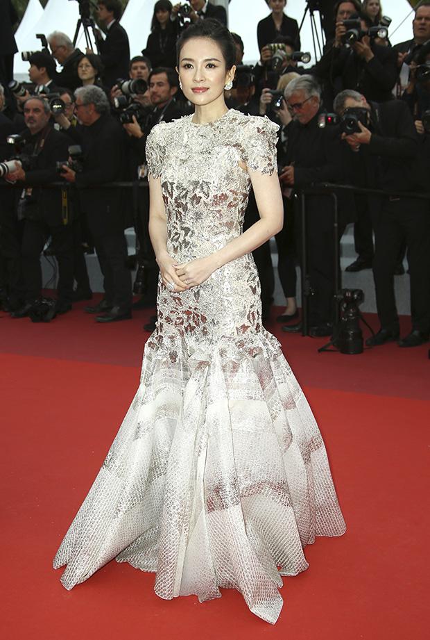 Zhang Ziyi en el Festival de cine de Cannes 2019