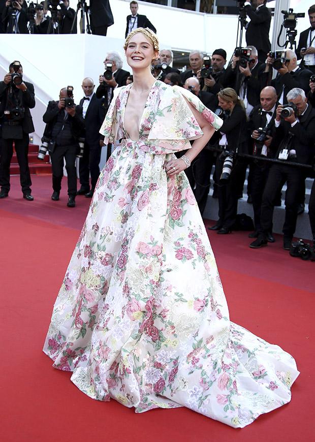 Elle Fanning en el Festival de cine de Cannes 2019