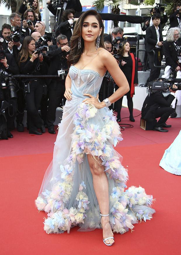 Araya A. Hargate en el Festival de cine de Cannes 2019