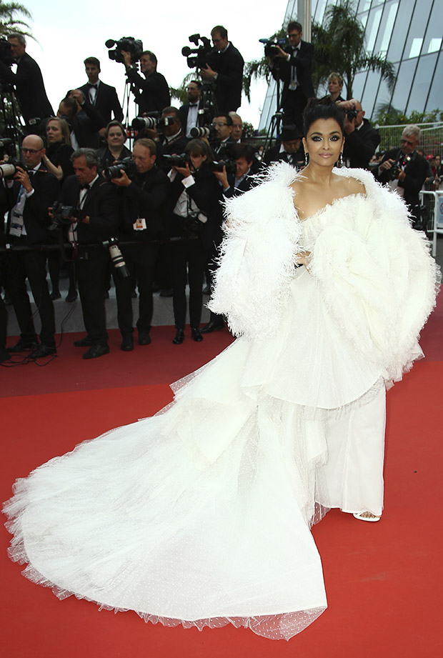 Aishwarya Rai Bachcha en el Festival de cine de Cannes 2019