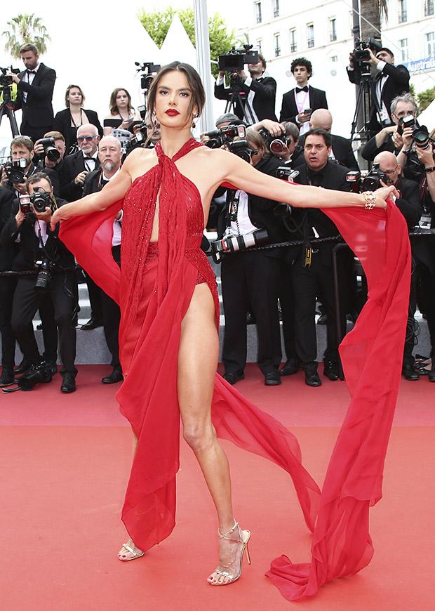 Alessandra Ambrosio en el Festival de cine de Cannes 2019