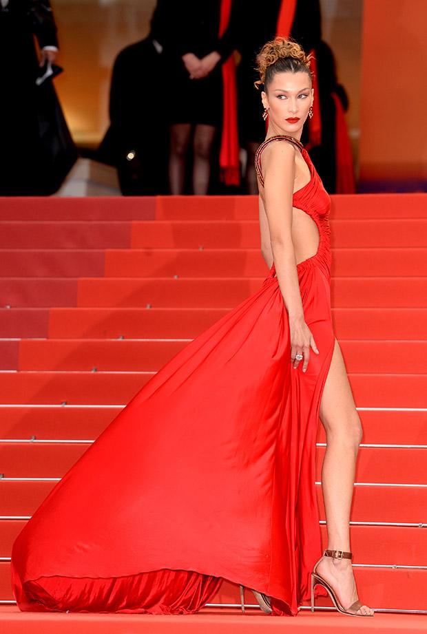 Bella Hadid en el Festival de cine de Cannes 2019