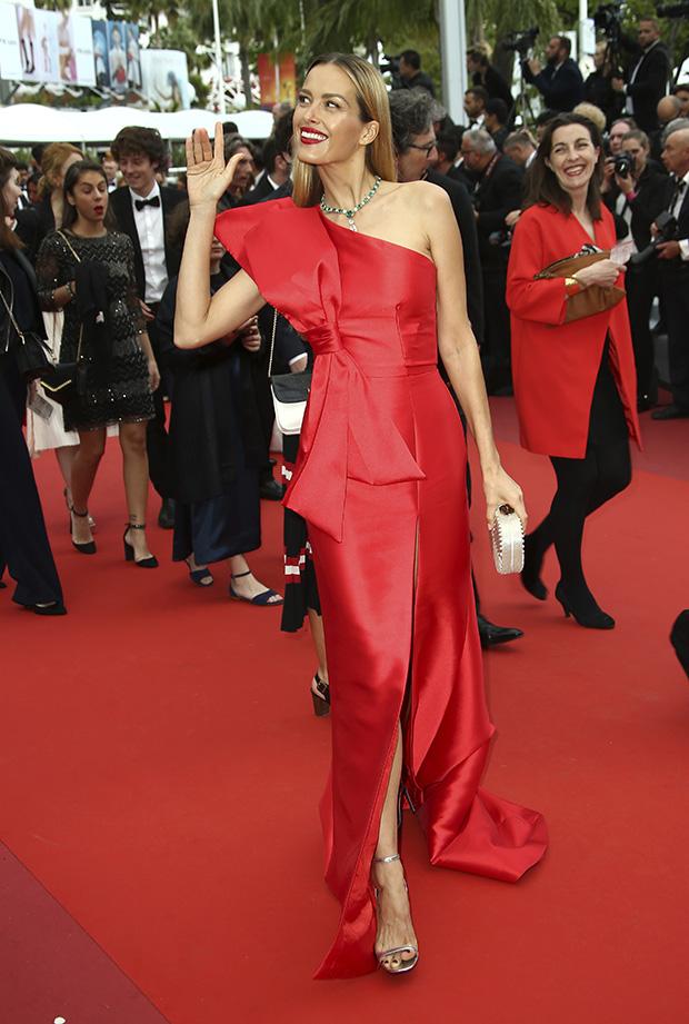 Petra Nemcova en el Festival de cine de Cannes 2019