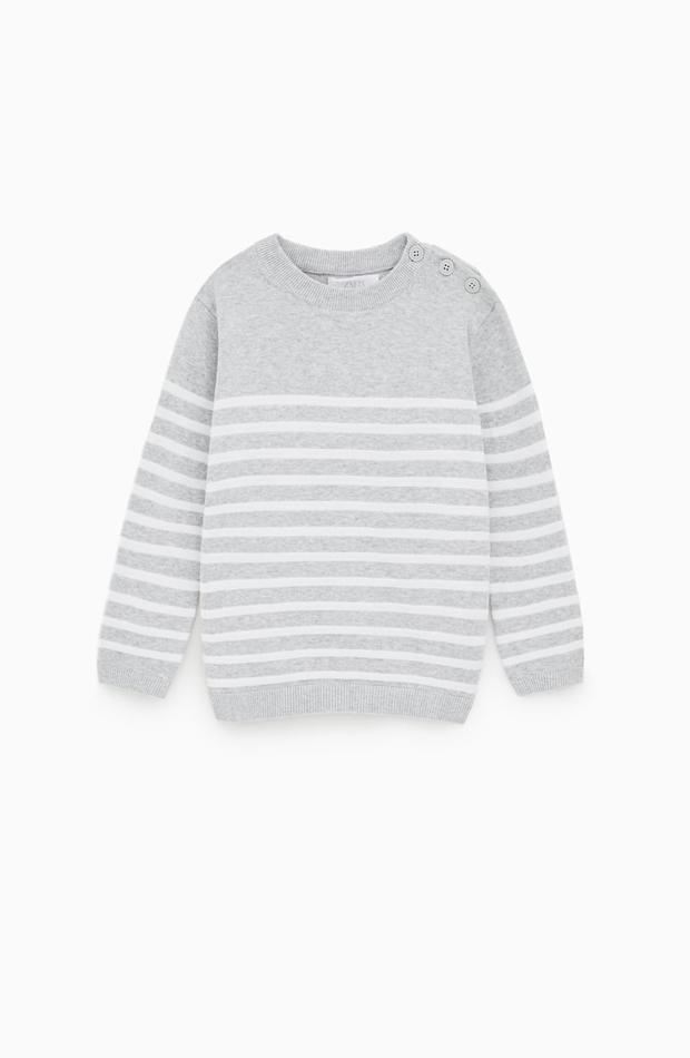 Jersey a rayas de la nueva colección de Zara Kids