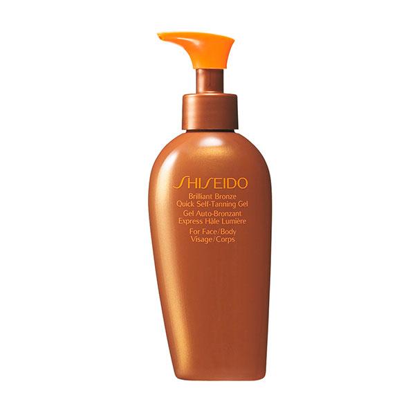 Gel brilliant bronze quick self-tanning gel de Shiseido