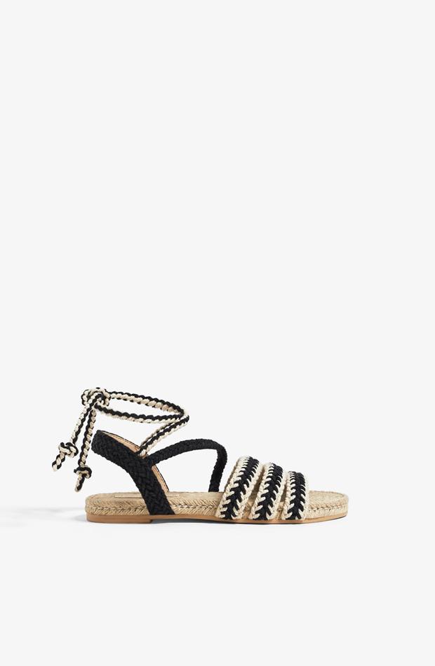 Sandalias de esparto de Zara Kids