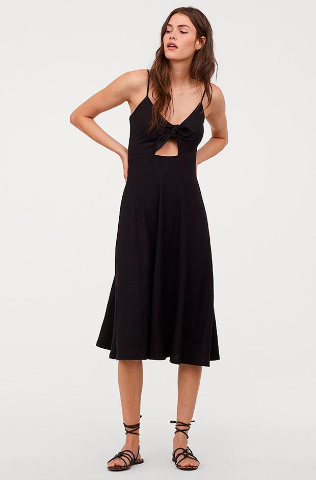 Vestido cut-out de H&M