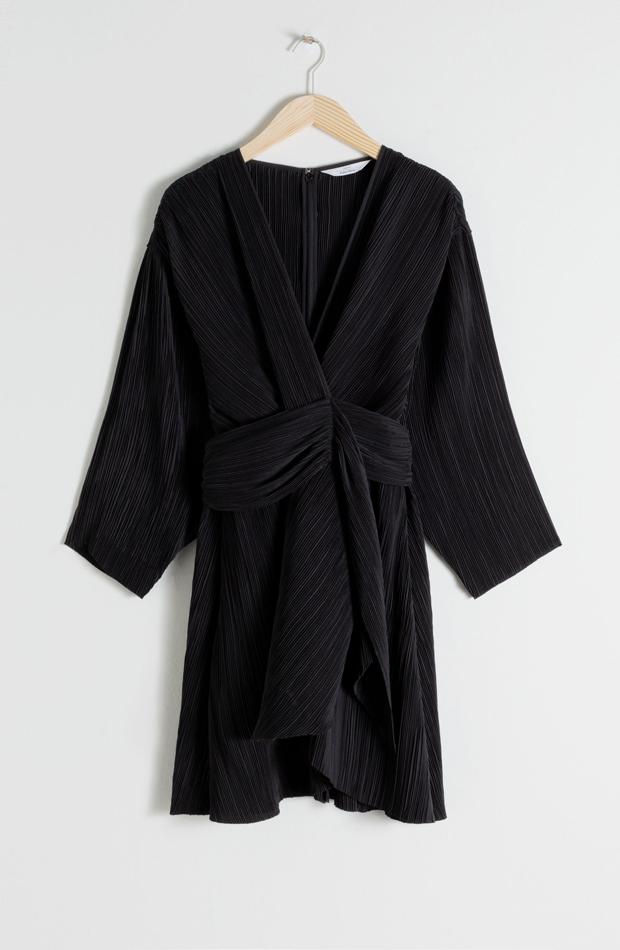Vestido negro de fiesta de verano
