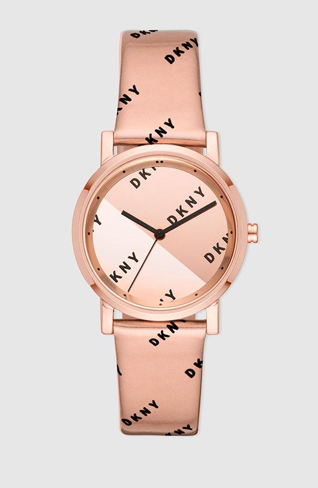 Reloj con estampado logomanía de DKNY