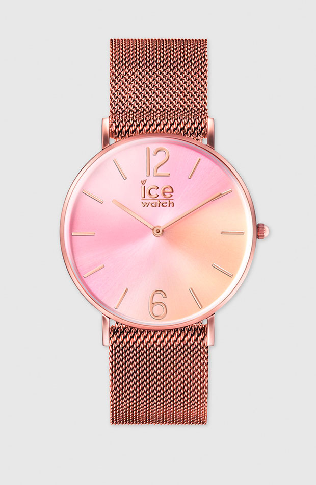 Ice Watch en tonos rosados