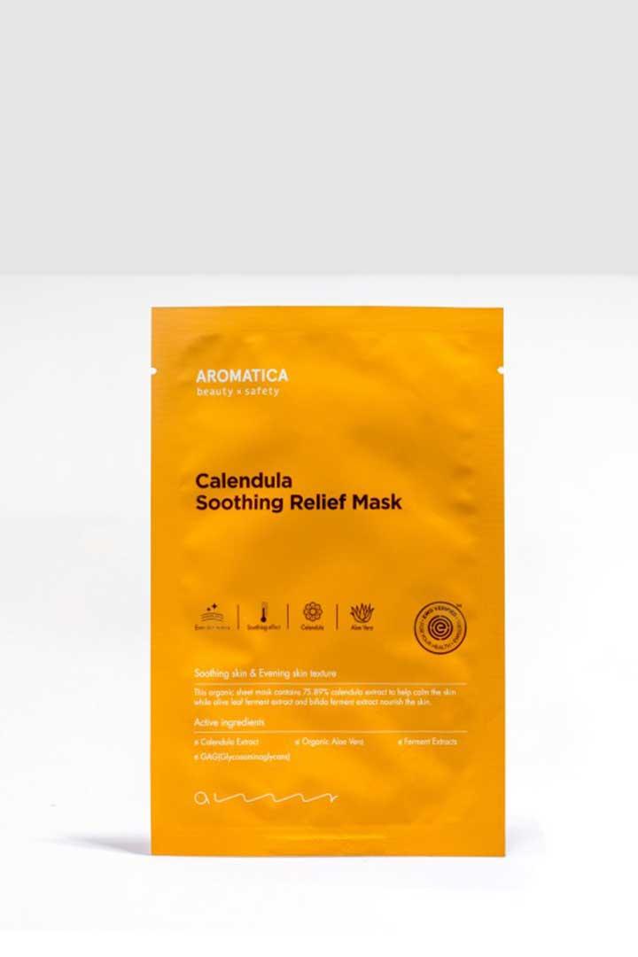productos 100 veganos Calendula Shooting Relief Mask
