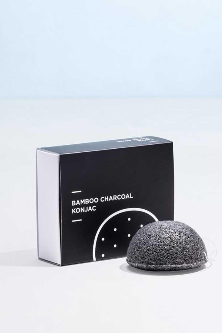 productos 100 veganos Miin Black Charcoal Konjac