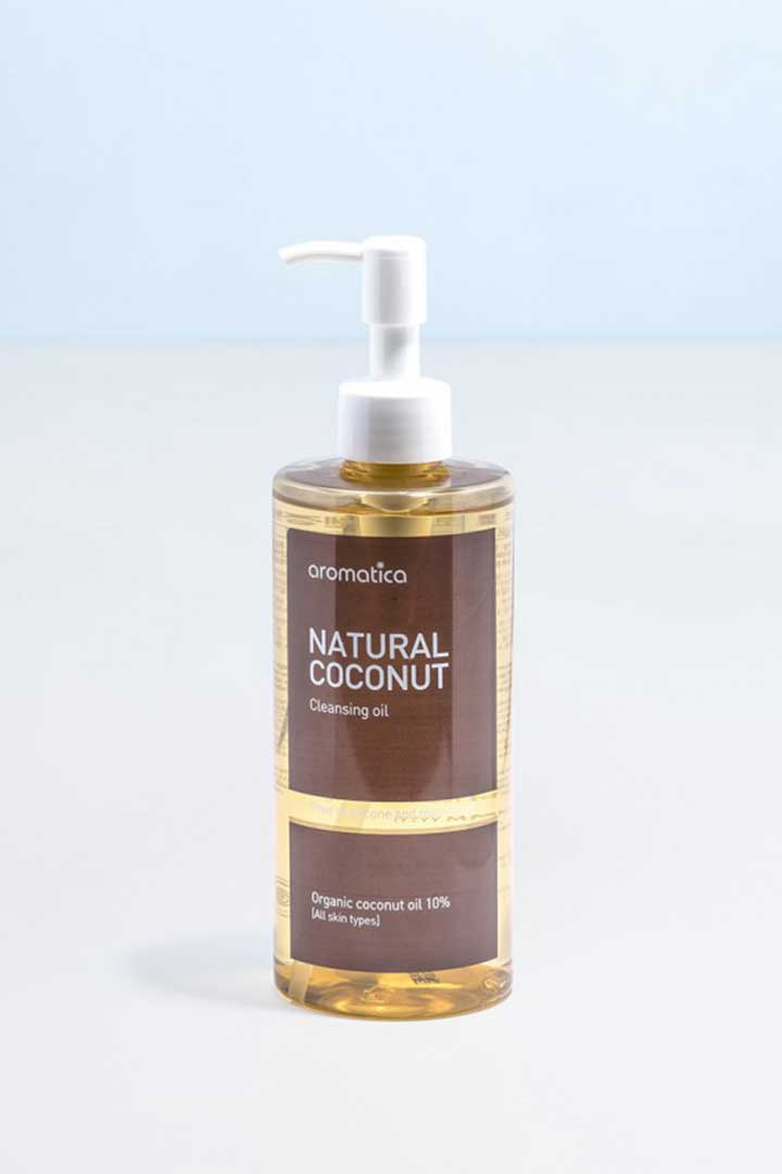 productos 100 veganos Natural Coconut Cleansing Oil