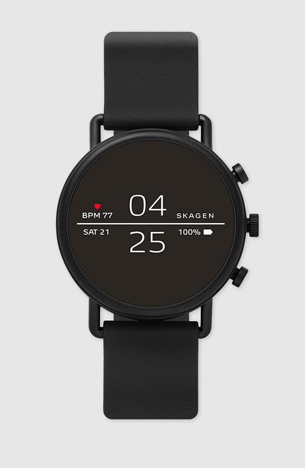 Smartwatch en negro de Skagen