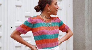 11 prendas para sumarte a la tendencia multicolor