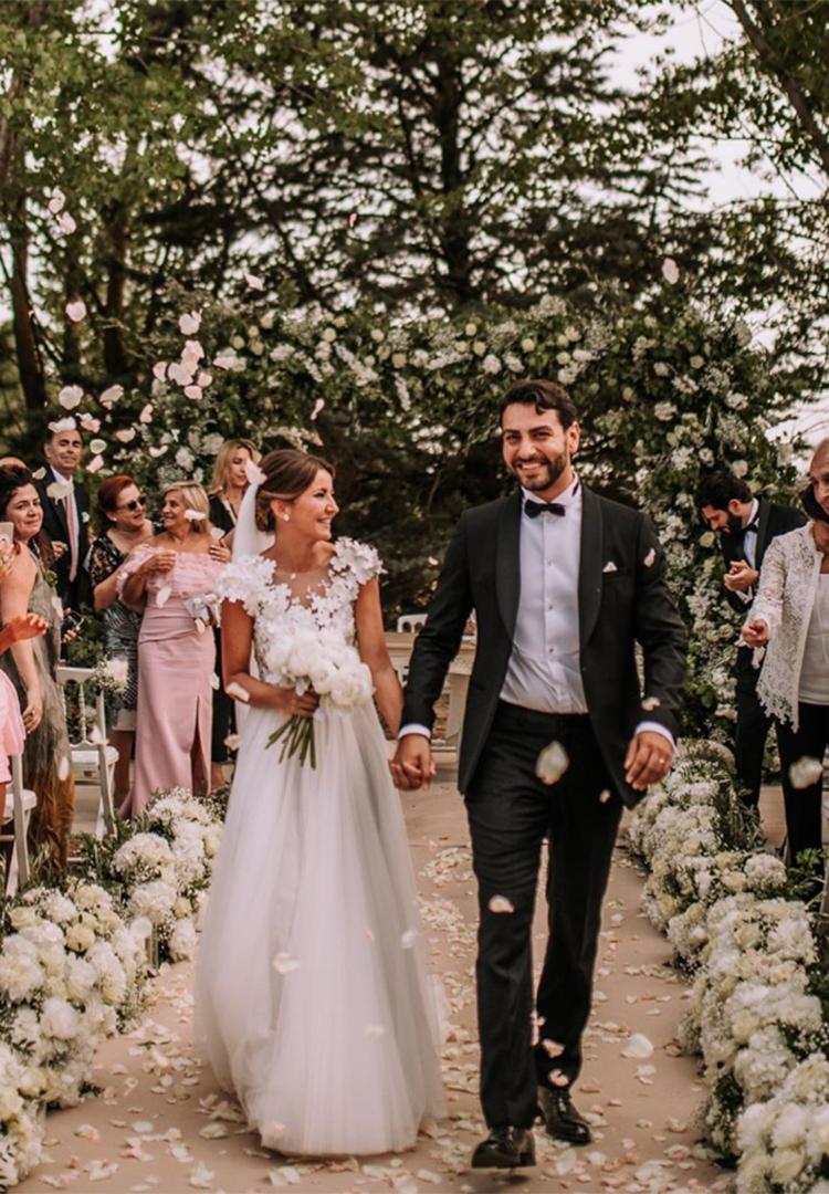 Vestido de novia de Alexandra Pereira
