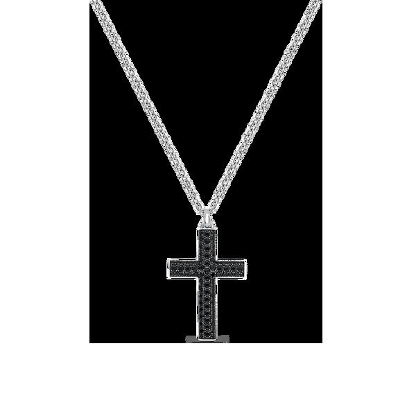 colgante de cruz de la colección argento de suarez