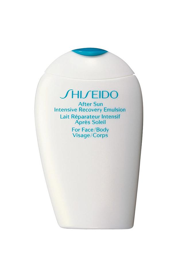 cremas aftersun shiseido