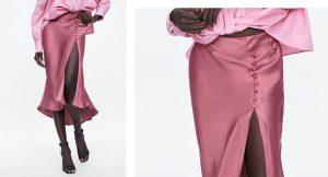La falda satinada, la pieza imprescindible en tu armario de verano