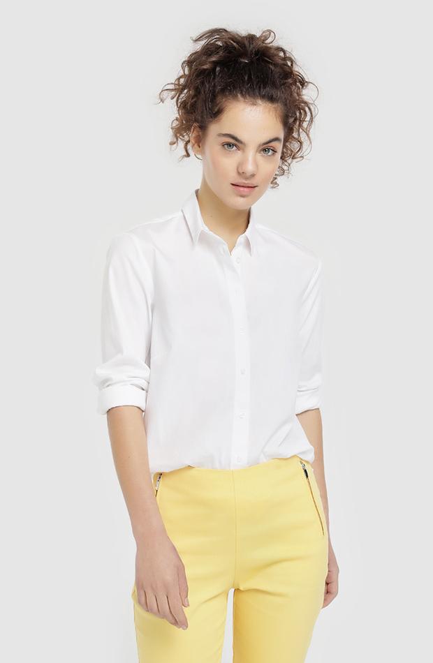 fondo de armario camisa blanca