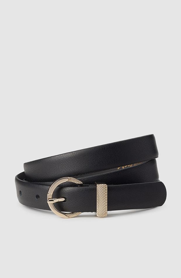 fondo de armario cinturon negro