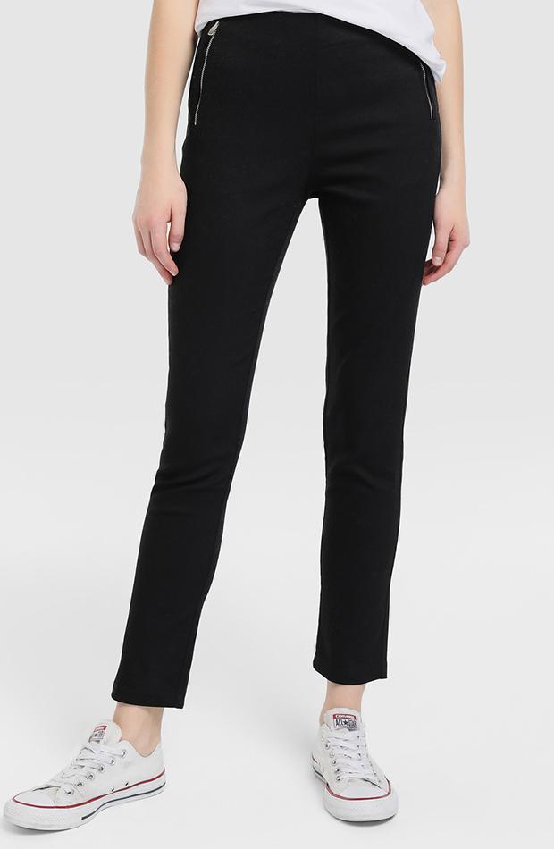 pantalon negro recto fondo de armario