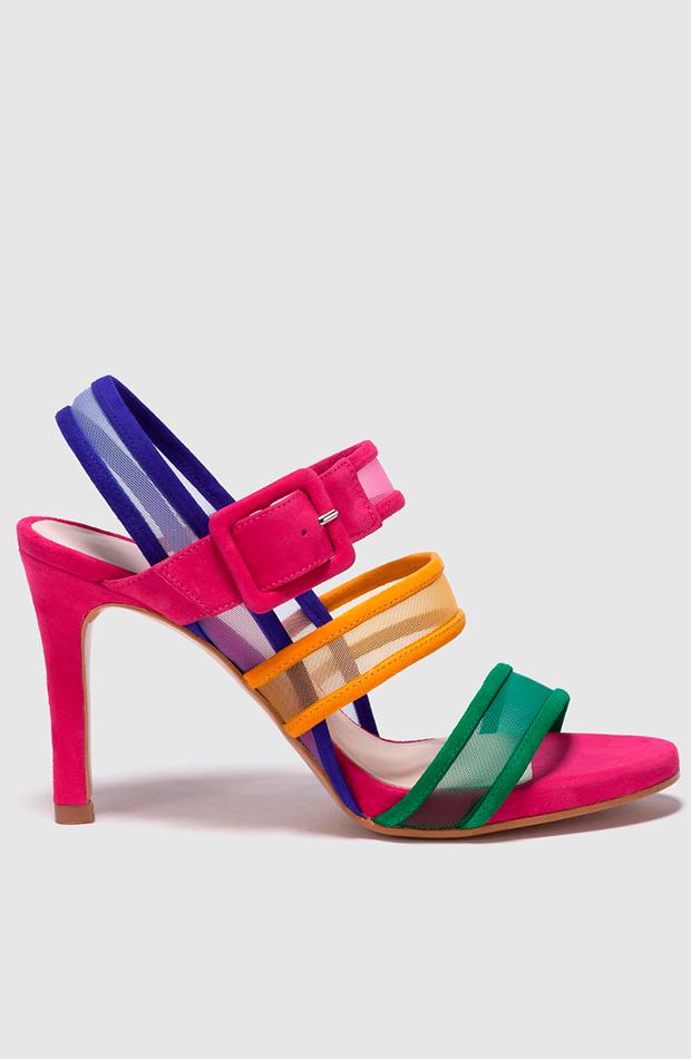 zapatos de colores verano 2019