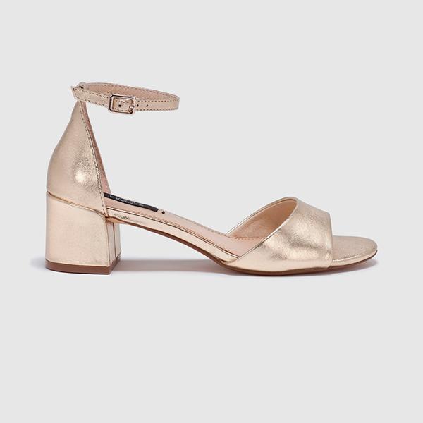 Sandalias doradas de Zendra Basic