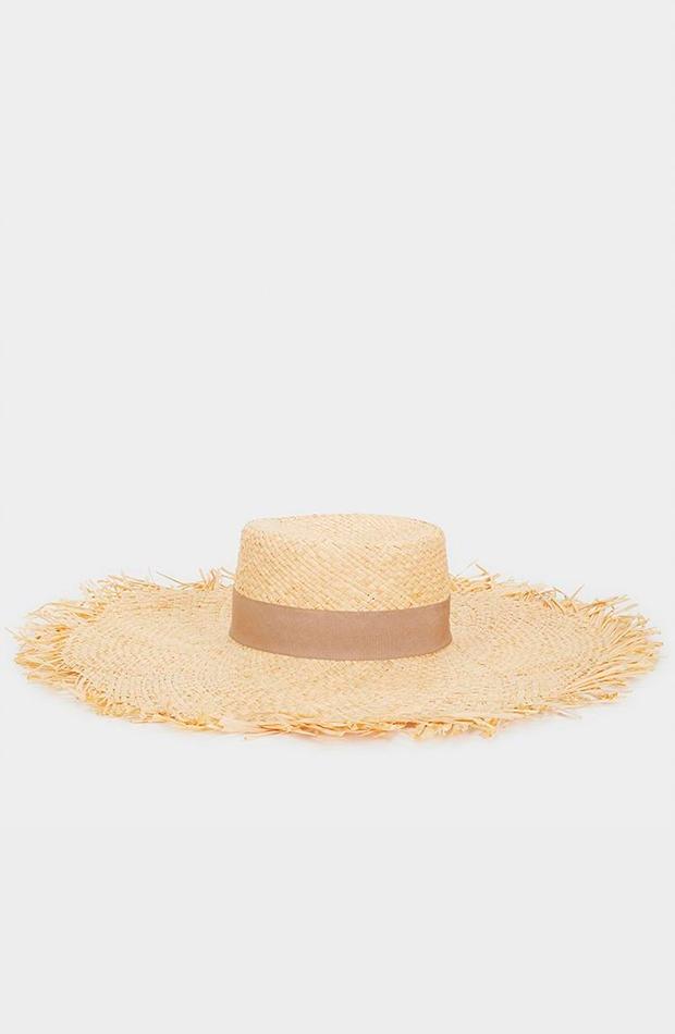 imprescindible verano 2019: sombrero de paja