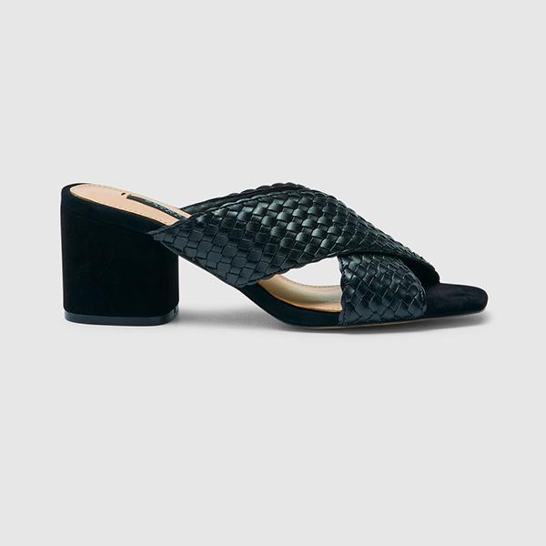 Sandalias de tiras trenzadas de Zendra Basic